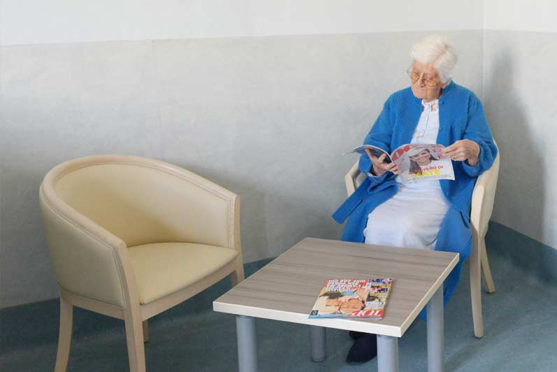 Servizio quotidiani e riviste casa di riposo