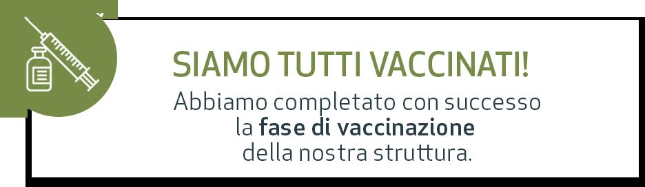 Siamo tutti vaccinati!