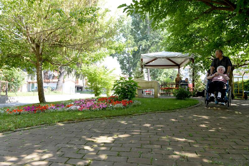 Salute e benessere nel parco di Villa Serena