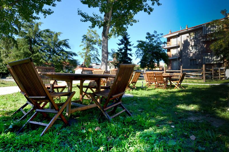 RSA a Torino con giardino