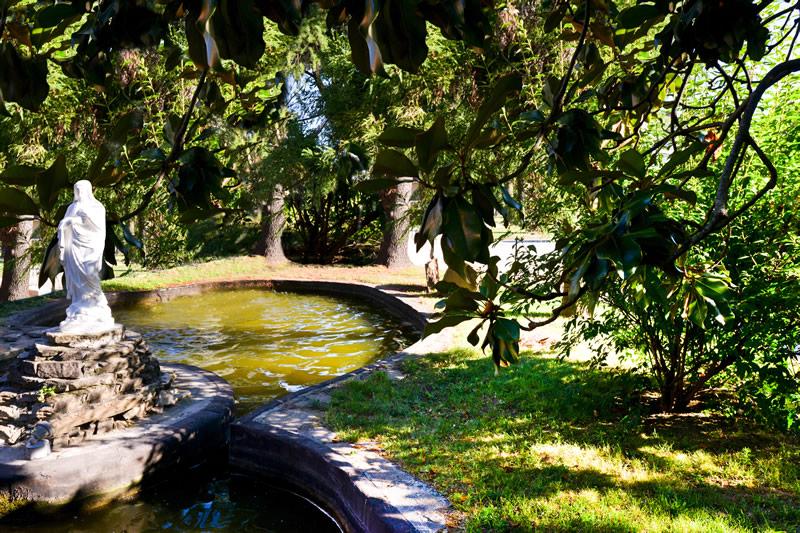Il parco di Villa Serena