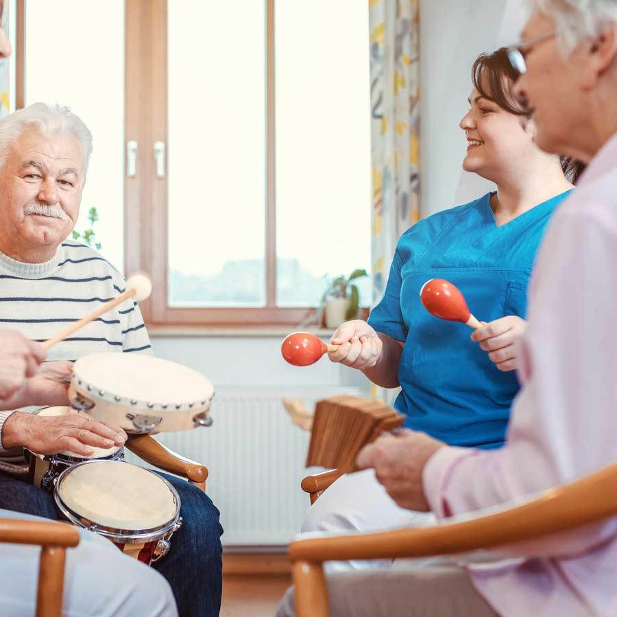 Villa Serena | musicoterapia per anziani torino