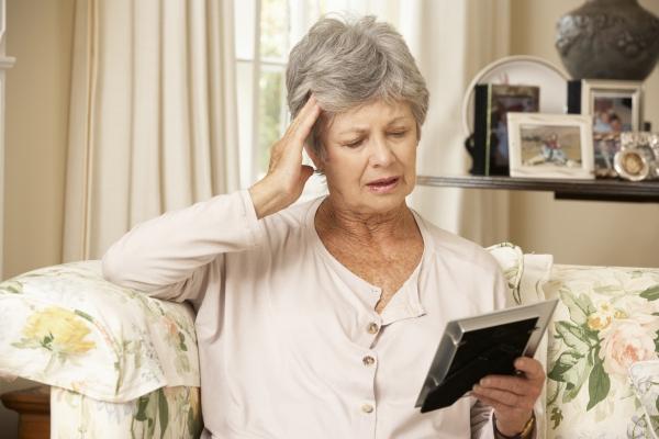 I sintomi della demenza senile: perdita della memoria