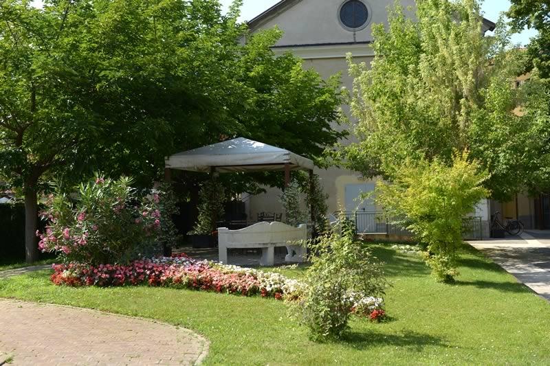Il parco della nostra casa di riposo RSA